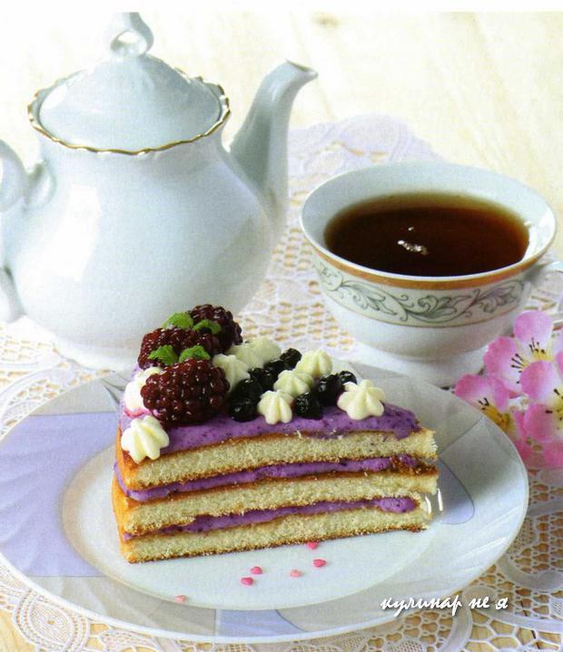 Торт с чаем или без