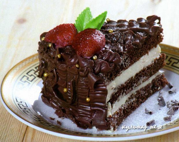 Шоколадные торты фото