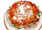 салат с грибоми