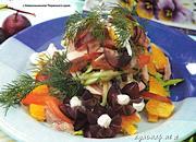 рецепты салатов с фото
