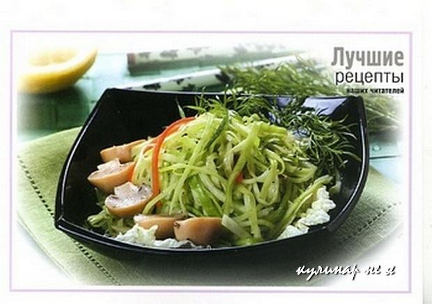 кулинарные рецепты салатов