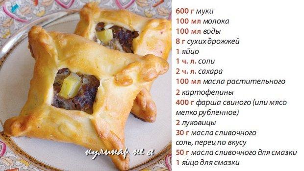 Эчпочмак рецепт фото с кефиром
