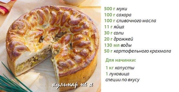Рецепты выпечка от селезнева