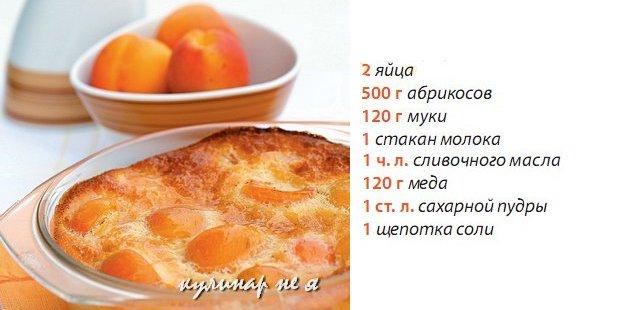 Рецепт из яиц муки и молока