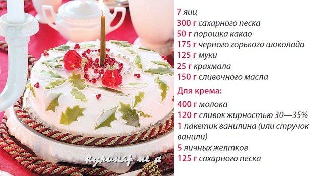 Торт с яблоками рецепт селезнева