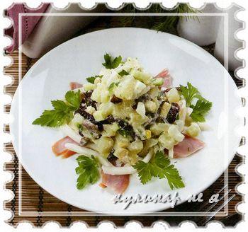 рецепт оливье с фото