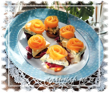 Салаты канапе закуски рецепты